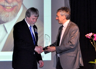 Peter Marwedel receives EDAA award