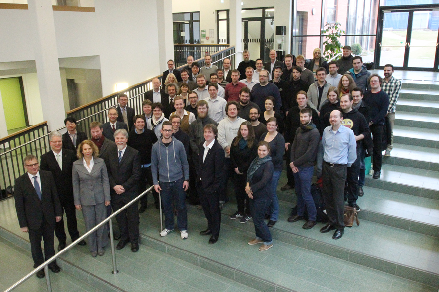 Employees  and participating professors of the collaborative research centre 876